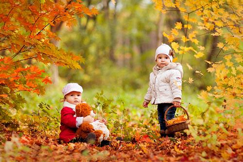 Красивые стихи про октябрь для детей 4-5 лет