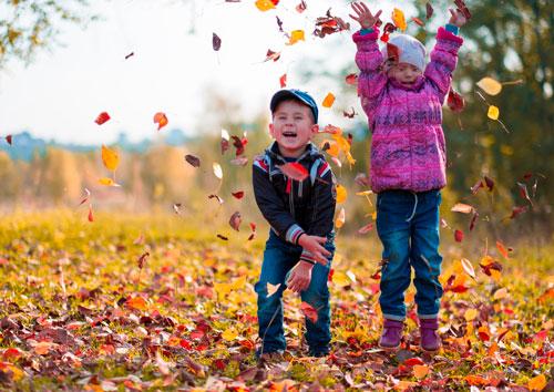 Красивые стихи про октябрь для детей 5-7 лет
