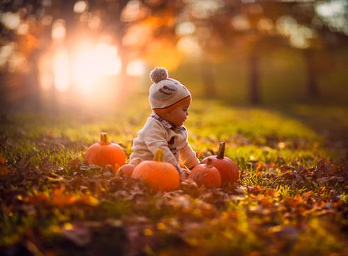 Красивые и короткие стихи про осень для детей 4-5 лет