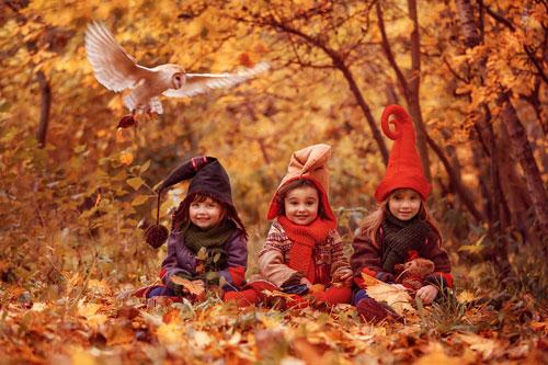 Осенние стихи для детей 2-3 лет