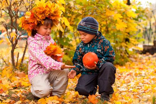 Осенние стихи для детей 3-4 лет