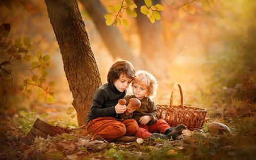 Красивые стихи про осень для детей дошкольного возраста