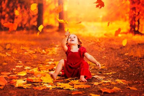Красивые стихи о осени для детей