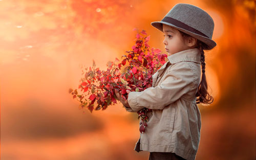 Короткие стихи про осень для детей 3-5 лет