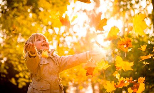 Красивые и короткие стихи про осень для детей