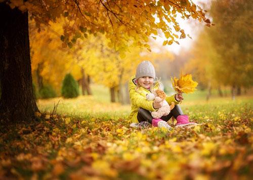 Осенние стихи для детей 4-5 лет