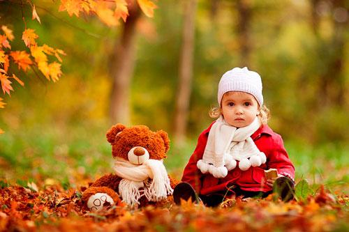 Осенние стихи для детей 5-7 лет
