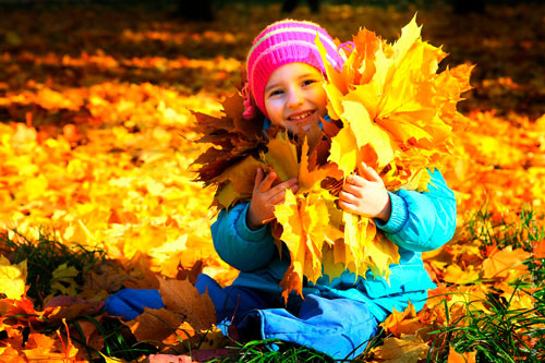 Красивые стихи про золотую осень для детей различных возрастов