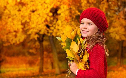 Красивые стихи про осень для детей начальной школы