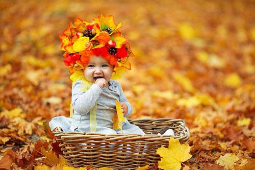 Стихи про осень для детей 2 лет