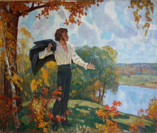 Красивые стихи про осень Александра Пушкина для детей