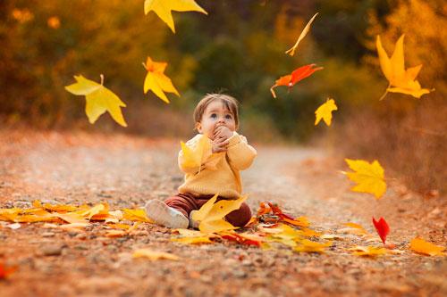 Красивые стихи про октябрь для детей 7-9 лет