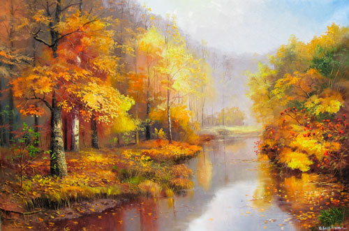 Красивые стихи Александра Блока про осень