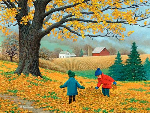 Стихи про сентябрь для детей 5-7 лет
