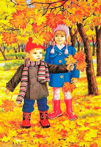 Стихи про сентябрь для детей 7-9 лет