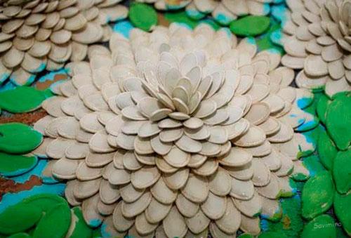Идеи поделок своими руками на тему осень из семечек