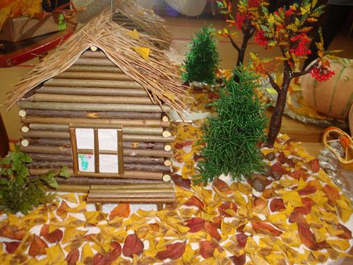 Детские поделки своими руками тема осень: домик