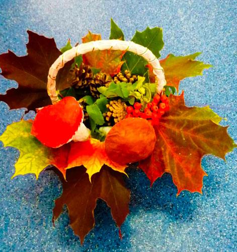 Детские поделки своими руками тема осень: грибы