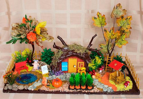 Детские поделки своими руками тема осень: дом