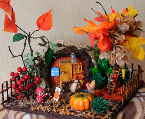 Детские поделки своими руками тема осень: деревья